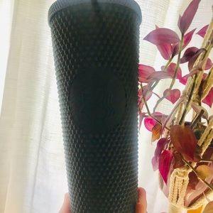 Starbucks black studded diamond cup